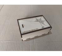 Коробка-шкатулка из фанеры с выдвижной крышкой