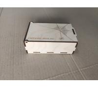 Коробка-шкатулка из фанеры с откидной крышкой