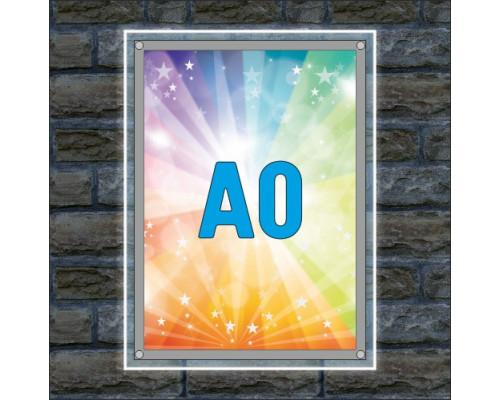 "Тонкая световая панель ""Crystal"" A0"