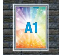 "Тонкая световая панель ""Crystal"" A1"