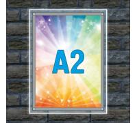 "Тонкая световая панель ""Crystal"" A2"