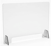 Экран защитный на стол на ножках, размер Ш*В 995*745 см