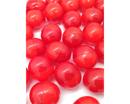 Капсулы разъемные одноцветные красные